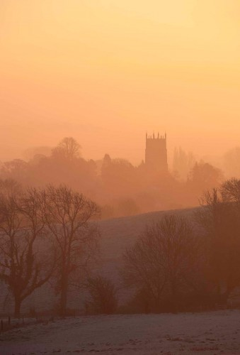 Sunrise at Chipping Campden
