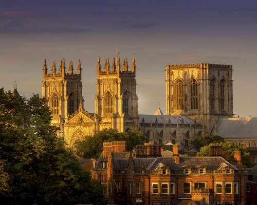 Sunset on York Minster