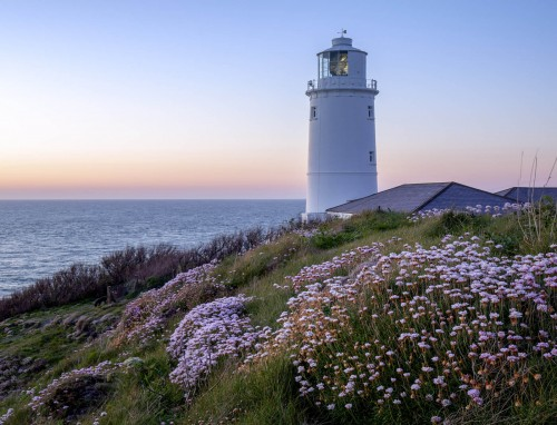 Trevose Head Lighthouse in Cornwall