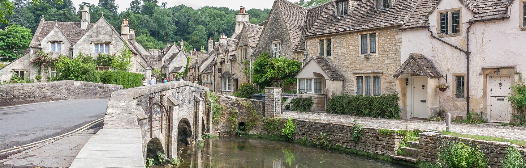 Castle Combe in The Cotswolds. Photograph by GRAHAM CUSTANCE