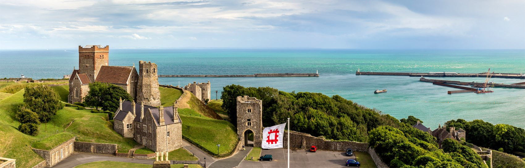Dover Castle in Kent. Photograph by ALEXEY FEDORENKO
