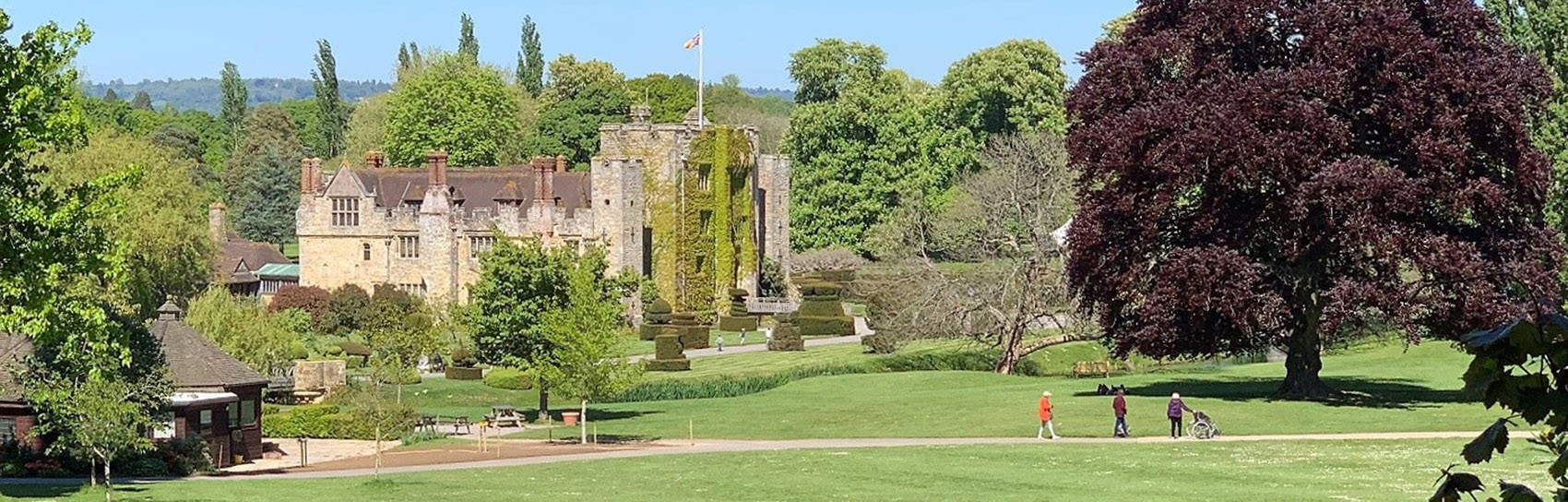 Hever Castle. Photograph by DAWN BLEE