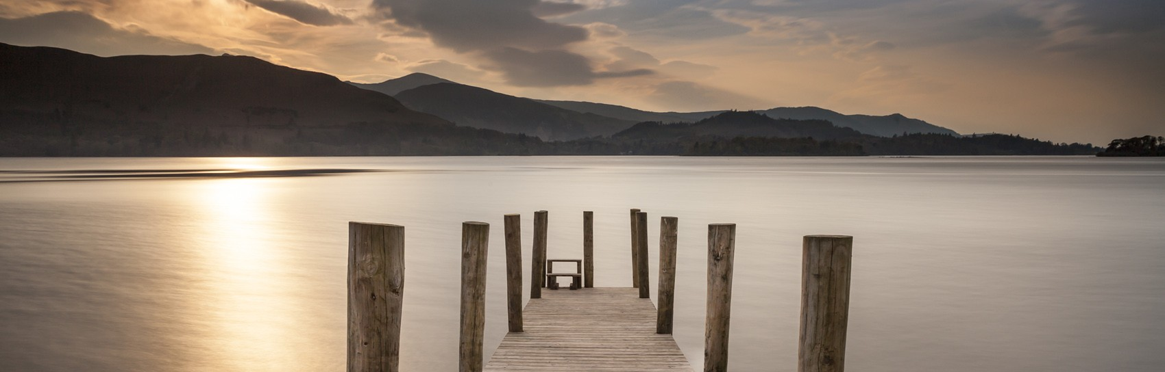 Sunset at Ashness Landing on Derwentwater. Photograph by MARK BULMER