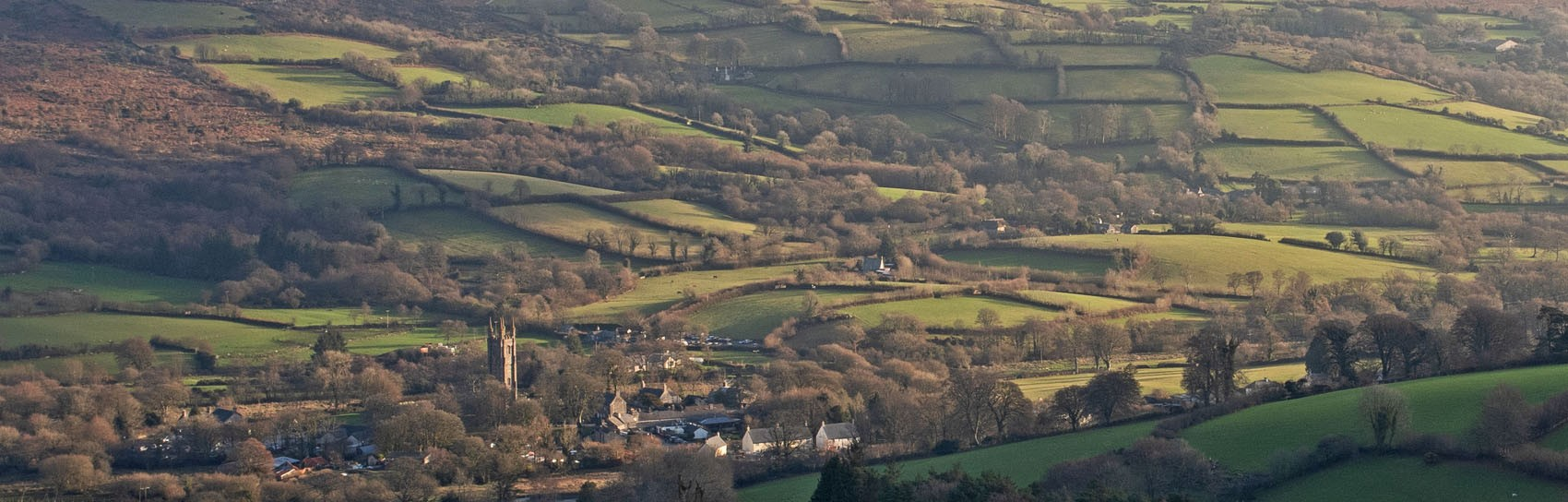 Widecombe in the  Moor. Photograph by ALEX GRAEME